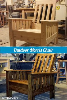 Morris Chair Pdf Plans In 2019 Morris Chair
