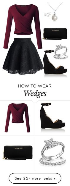 """""""Untitled #291"""" by lilmissmeganp on Polyvore featuring LE3NO, Paul Andrew, MICHAEL Michael Kors and Bling Jewelry"""