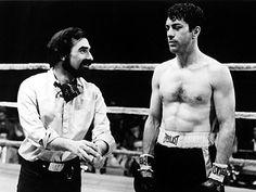 Martin Scorsese & Robert De Niro (Raging Bull, 1980)