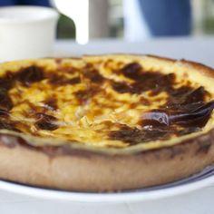 Flan pâtissier Flan Nature, Bon Dessert, Creme Brulee, 20 Min, Cupcake Cakes, Cupcakes, Mashed Potatoes, Pizza, Cheese