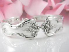 Spoon Bracelet Spoon Jewelry Silverware by SilverSpoonCreations, $26.00