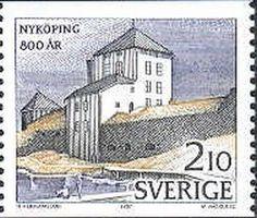 Sello: Nyköping Castle (Suecia) (Town Jubilees) Mi:SE 1442,Yt:SE 1414
