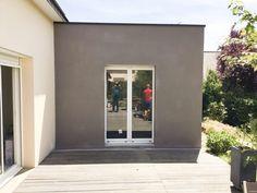 Architecture, Garage Doors, Windows, Outdoor Decor, Garden Ideas, Home Decor, Blue Prints, House Extensions, Flat Roof House
