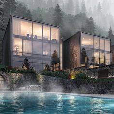 """6,706 Me gusta, 15 comentarios - Arc.Only (@arc.only) en Instagram: """"Forest House by INK PIXEL •#Arc_Only"""""""