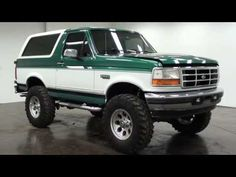 Dream Building for our 96 Ford Bronco XL Ford Bronco 1996, Ford Bronco Lifted, Bronco Truck, Ford 4x4, Ford Pickup Trucks, Old Bronco, 4x4 Trucks, Bicicletas Raleigh, Broncos Pictures