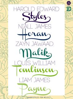 members of one direction who i love <3