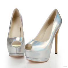 outdoor bridesmaid dresses 5.5 inch Multicolor  Leather shoes with Open toe $49.98