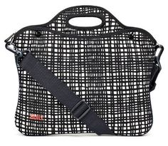 $47.99 BUILT 11-13 Inch Neoprene Laptop Portfolio, City Grid by Built NY. Getting gifts related to grad school or career are good graduation gift ideas.