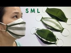 Easy Face Masks, Homemade Face Masks, Diy Face Mask, Flax Weaving, Bra Hacks, Making Faces, Sewing Appliques, Body Wraps, Diy Mask
