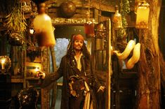 Johnny Depp as Jack Sparrow Johnny Depp, Captain Jack Sparrow, Tia Dalma, Pirate Life, Pirate Art, Orlando Bloom, Dead Man, Pirates Of The Caribbean, Disney S