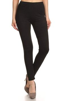 2fd6350dd97 Soft Basic Solid Leggings Pants