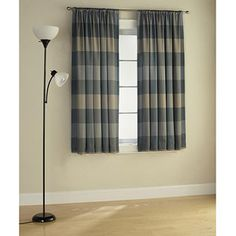 Mainstays Solid Room Darkening Curtain Panel Perfect Size