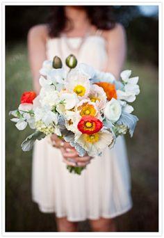 Poppy wedding bouquet...look Mariella...gorgeous!