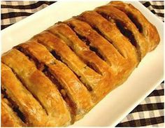 Food Wishes Video Recipes: Fast and Easy Peach Strudel - Forced to Use Frozen Puff Pastry Once Again Beyond Bread, Quick Bread Rolls, Tapas, Frozen Puff Pastry, Food Wishes, Cream Cheese Filling, Hot Dog Buns, Food Videos, Sweet Treats