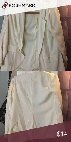 Cream blazer Cream blazer Candie's Jackets & Coats Blazers