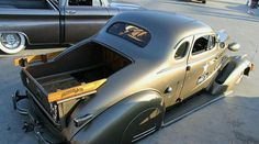 1938 Chevrolet business coupe with trunk mounted bed