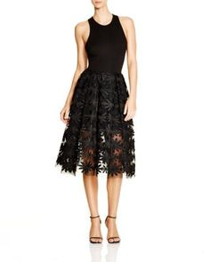 Maje Ralph Floral-Lace Dress - 100% Bloomingdale's Exclusive | Bloomingdale's