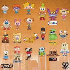 Saturday Morning Cartoons 90s, Step On A Lego, Funko Mystery Minis, 80 Cartoons, Pop Collection, 90s Childhood, 90s Nostalgia, 80s Kids, Classic Cartoons