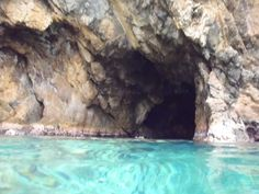 Cave on Norman Island in the BVI
