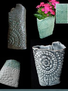 Clay Pockets - great way to incorporate texture too.