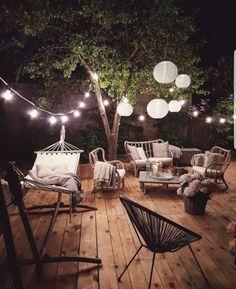 01 Cozy Backyard Patio Deck Design Ideas – Decoradeas - Back yard Backyard Patio Designs, Pergola Designs, Diy Patio, Patio Ideas, Backyard Ideas, Terrace Ideas, Pergola Ideas, Pergola Kits, Backyard Landscaping
