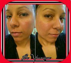 Me! :-) #BeYounique #Mascara #EyeLiner #NaturalBeauty
