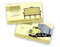 Cartão de visita Alzaibar
