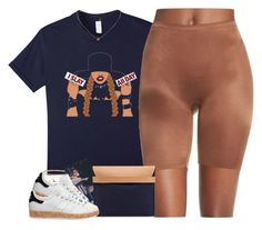 """""""All Day"""" by oh-aurora ❤ liked on Polyvore featuring Anita Ko, Bijoux Coquette, SPANX and adidas Originals"""