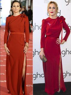Mismo vestido, distinta famosa: ¿quién lo lleva mejor? (FOTOS)