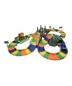 Look at this City Track Construction Set on #zulily today!