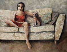 Il mondo di Mary Antony: I ritratti di Didier Laurenco