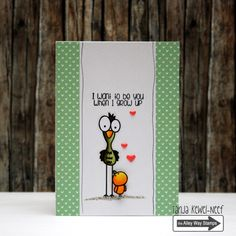 The Alley Way Stamps, TAWS, cards, clear stamps, Flap Happy, Tanja Kewel-Neef