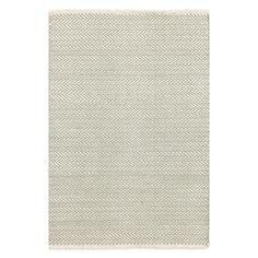 Dash & Albert - Herringbone Teppich - Ocean - 244 x 305 cm
