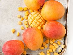 Mangoes are rich in vitamin A, C and  silica...great for hair, skin, bones and muscles! Go ahead and indulge!    Photo: Katie Quinn Davies