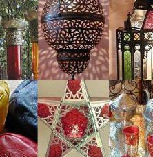 Marokkanisches Kunsthandwerk, (Hennalampen, Thuyaholz, Keramik, Geschirr, marokkanische Mosaiktische, orientalische Lampen, oriantalisches D...