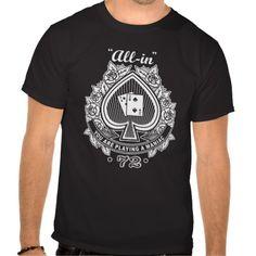 Poker Maniac T Shirts
