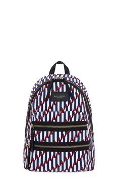 Arrow Print Biker Backpack