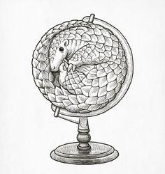 Pangolin Globe | Flickr - Photo Sharing!