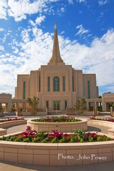 The Old Testament scripture -- the desert shall blossom as a rose- is being fulfilled as a new Mormon Temple in the PHOENIX, Arizona area is being built and dedicated. This one is in Gilbert. Another is in Phoenix. Latter day Saints have enjoyed and will still use a Mormon temple in Mesa built in the 1920s. (Pinner - I know one person that has a home in AZ and she said there is a Mormon Church/LDA about every 4 blocks or so. Good News!