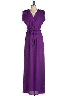 Plum Speechless Dress, #ModCloth