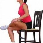 Ease muscle aches with this at your desk stretch.