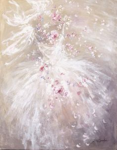 Shabby Romantic Rose Dance by Debi Coules