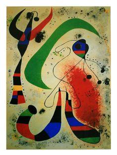 Joan Miró - La Noche