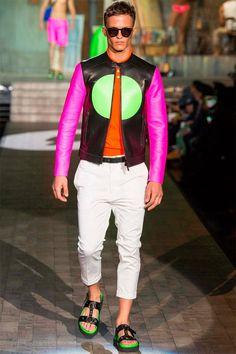 #Menswear #Trends DSQUARED2 Spring Summer 2015 Primavera Verano #Tendencias #Moda Hombre
