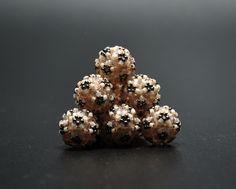 Beaded beads - toho, miyuki, fire polish