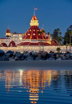 Hotel Del Coronado - San Diego.  Had our Senior Prom here.  Would love to go back and stay someday.
