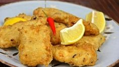 Homemade Fish Nuggets (fried fish) Recipe.