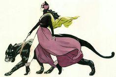 Catwoman by Jillian Tamaki