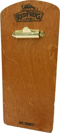 Wood Menu Clipboard by Menu Designs. If you're looking for a new modern twist on your menus, you need to check out our menu boards. Our menu boards with bands are very popular among high class restaurants, bars & nightclubs. Perfect for featuring drink specials & more! Or perhaps you want to try a more modern yet rugged look w/our clipboard menus. Pick your favorite color & style to give your restaurant menu a new look! Looking for a custom quote? Email us at sales@menudesigns.com.