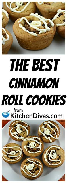 I love these cookies and do not make them very often because of it! The pecans and raisins on the inside and the fabulous cream cheese icing on top make these cookies a hit every time! For all of you cinnamon roll lovers out there then this recipe for The Best Cinnamon Roll Cookies is for you! They are worth the effort!